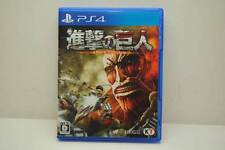 Used PS4 Attack on Titan Shingeki no Kyojin AOT Japan Import Official