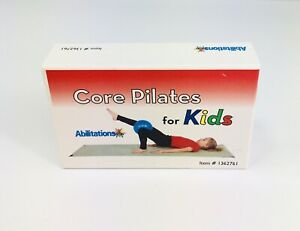 Core Pilates for Kids Set 56 Exercise Cards Strength Training Home Gym Workout
