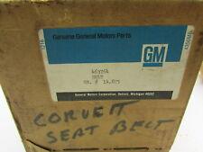 New NOS Genuine GM 1977 Corvette R.H. Grey Seatbelt Retractor 463764 14.875