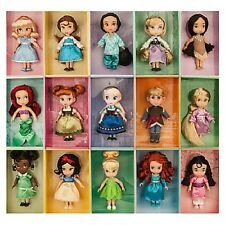 "Deluxe~15~MINI ANIMATORS'~5""~12.7cm~DOLLS~COLLECTION Gift SET~NWT~Disney Store"