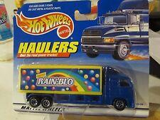 Hot Wheels Haulers over the Road Trucks! Rain-Blo