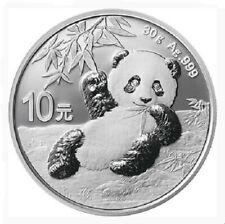CHINE 10 Yuan Argent 30 grammes Panda 2020
