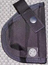 NEW Sig Sauer Black Nylon Deployment Bag Holster Compact / Sub-Compact NIB