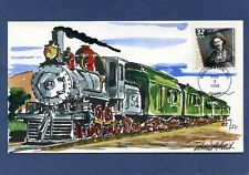 Nouvelle annonce Sc #3182c Motion Pictures Wild Horse Hand Drawn & HP Cachet First Day Cover