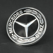 Front Hood Bonnet Emblem Logo Badges Fit Mercedes-Benz 57mm W203 W204 W202 W208