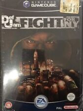 Nintendo GameCube Cube WII Def Jam: Fight for NY NUOVO FACTORY SEALED