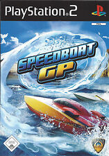 SPEEDBOAT GP for Playstation 2 PS2 - with box & manual - PAL