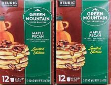 24Ct GREEN MOUNTAIN MAPLE PECAN K CUPS Keurig Coffee ~* FAST FREE SHIPPING ! *~