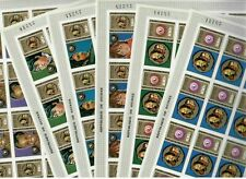 S31802) Guinea 1972 MNH Agaist Racism 6v Imperforated Full Sheets