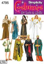 Simplicity SEWING PATTERN 4795 Adult  & Teens Nativity Costumes