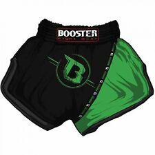 Booster Thai Shorts TBT PRO 3 Black/Green, S - XXL. Muay Thai, Kickboxen, MMA