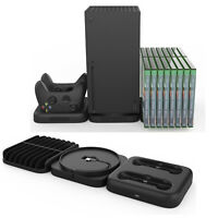 3 in 1 USB Charging Dock Station Disc Rack Stand For XboxSeries X Accessories