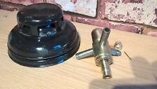 TILLEY X246B BURNER & BLACK HOOD PARAFFIN PRESSURE VAPOUR STORMLIGHT LAMP
