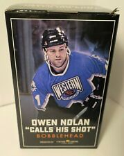 Owen Nolan 11 San Jose Sharks Calls His Shot Bobblehead 2019 Collectible NIB