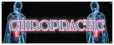 Chiropractic Banner Back Neck Problems Holistic Retail Store Sign 24x72