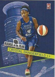 * CRYSTAL DANGERFIELD * GENERATION NEXT TRADING CARD #2 WNBA 2020 ROY LYNX UCONN