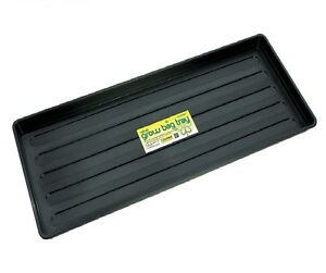 PLASTIC GROW BAG GROWBAG TRAY GARDEN PLANT WATERING TRAYS 1 2 4 5 10 PACK