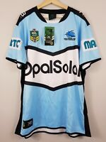 CRONULLA SHARKS XBlades Mens Size 4XL 2018  Rugby League Jersey NEW + TAGS