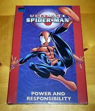 Ultimate Spider-Man Power and Responsibility Hardcover HC Factory Sealed