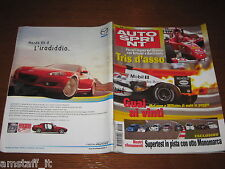 AUTOSPRINT 2004/14=GP F1 BAHREIN=MICHAEL SCHUMACHER=RALLY 1000 MIGLIA=MAZDA MX5=