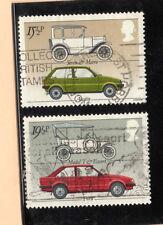 Gran Bretaña Automoviles coches valores del año 1982 (BF-634)