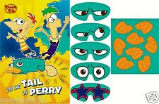 Disney Phineas and Ferb Agent P Party Game Party Supplies