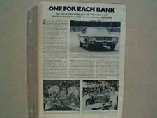 1972 OLDSMOBILE TWIN TURBOCHARGED CUTLASS CONCEPT CAR