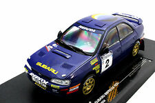 SUNSTAR SUBARU IMPREZA 555 #2 WINNER RALLY OF NEW ZEALAND 1994 1/18 BLUE 5502