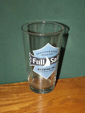 """Full Sail Brewing Co. Beer Glass, Hood River Oregon, Pint Size """"Pounder"""" Style"""