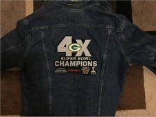 GREEN BAY PACKERS SUPER BOWL JACKET PATCH EXTRA LARGE 4X CHAMPION SUPERBOWL 51