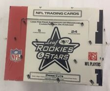 2007 Leaf Rookies and Stars Football Hobby Box Factory Sealed 24 Pack