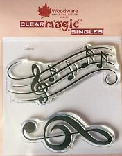 Woodware Clear Magic Music Notes JGS110