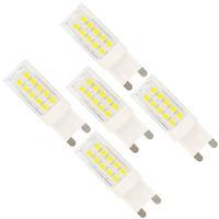 5x G9 Dimmbar LED Lampen,44 SMD 2835,Kaltweiß,5W als Ersatz für 30W Halogenlampe