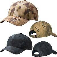 Mens Camo Baseball Cap Kryptek Highlander Hat Typhon Mid Structured Adjustable