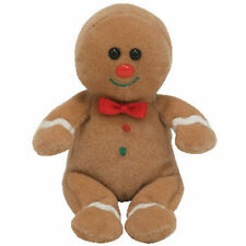 TY Jingle Beanie Baby - SWEETSY the Gingerbread man (4.5 inch) - MWMTs Ornament