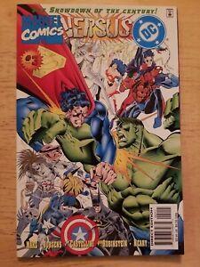 Marvel Comics Versus DC #3 Comic Book Superman Hulk Superboy Spiderman Lobo 1996