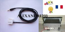 Cable auxiliaire aux adaptateur mp3 pour autoradio TOYOTA