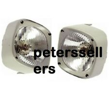 HEAD LIGHT LAMP WITH COWL PAIR LH & RH Massey Ferguson Tractor 135 165 185