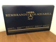 Lyra Rembrandt Aquarell Water Soluble Coloured Pencil Set Metal Box 36 pcs