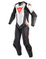New Dainese Laguna Seca 4 Leather Suit Men's EU 50 Black/White/Red #1513457N3250