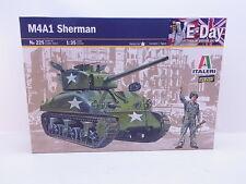 LOT 38915   Italeri 225 M4A1 Sherman - E-Day 1:35 Bausatz NEU in OVP