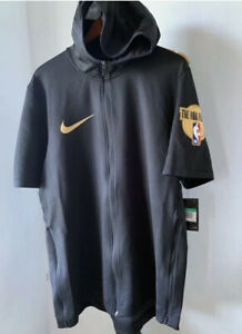 Nike NBA Finals Showtime Therma Flex Zip Black Hoodie Size XXL Tall AH4009-010