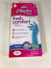 Playtex Fresh Comfort Superior Protection Gloves 1 Pair Size Small Brand New