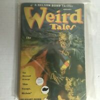 Weird Tales Magazine January 1944 Vintage Pulp Horror Sci-Fi Fantasy