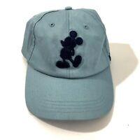 VTG Authentic Disney Parks Mickey Mouse 28 1928 MM Ball Cap Baseball Hat Blue