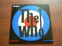 """The WHO -Rolling Stone 7"""" Single-Ball And Chain-My Generation-white vinyl"""