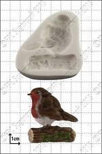 Silicone mould Robin | Food Use FPC Sugarcraft FREE UK shipping!