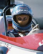 1975 Driver HANS-JOACHIM STUCK Glossy 8x10 Photo Formula 1 US Grand Prix Poster