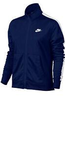 Nike Sportswear Trainingsjacke Blau »WOMEN NSW TRACK SUIT PK OH« Gr.M - U51
