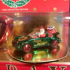 1996 Hot Wheels Mattel Holiday Special Edition Collector Case Serial No. 4 of 4